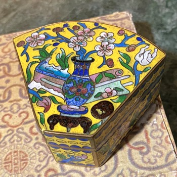 Cloisonne Box - Chinese - Asian