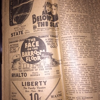 Lincoln Sunday Journal Sept. 3, 1933 - Paper