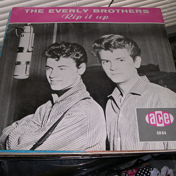 THE EVERLY BROTHERS RIP IT UP ACE RECORD LABEL CH64
