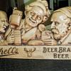 1930's Schell's beer plaster sign