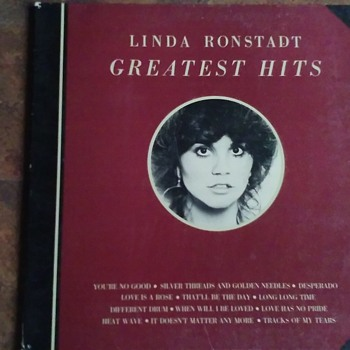 The Ladies..#1..Linda Ronstadt...On 33 1/3 RPM Vinyl - Records