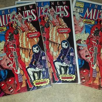 Got 3 new mutant #98 deadpool 1st - Comic Books