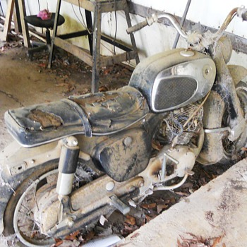 Old Motorcycle - Motorcycles