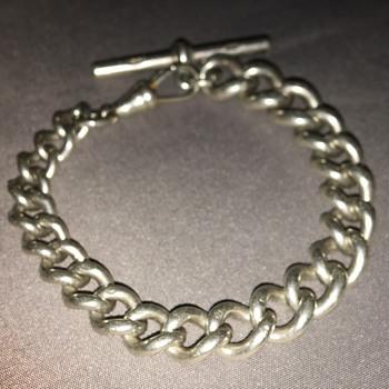 Vintage silver bracelet  - Silver
