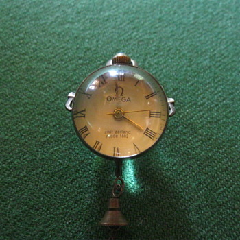 Omega glass ball watch 1882 - Pocket Watches