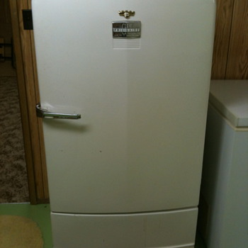 The Family's First Fridge/Freezer - Kitchen