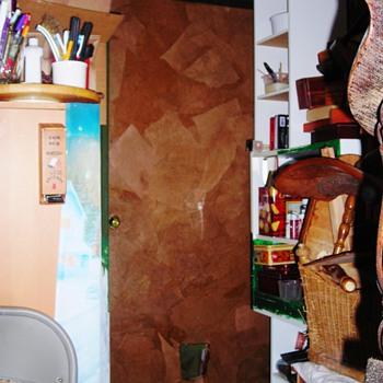 Brown paper bagged my garage door