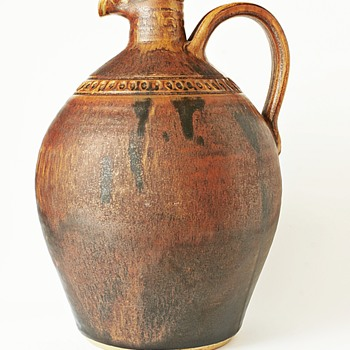 Stoneware Flagon/Jug - Pottery