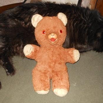 Vintage 1950s Ideals Toys Teddy Bear