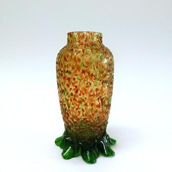 Bohemian vase - Art Glass