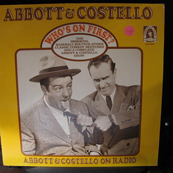 Abbott & Costello Radio Program on L.P.
