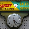 Mercury Outboard Clock