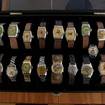 "Kerry's ""Cowboy"" Box - Wristwatches"