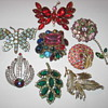 Costume Jewelry Broaches
