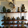 Sorry, it has been a while. This is my current display of mixed French and Belgian Art Deco Glass! Enjoy
