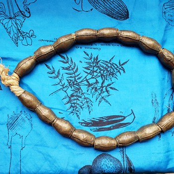 African Brass (?) Beads - Fine Jewelry