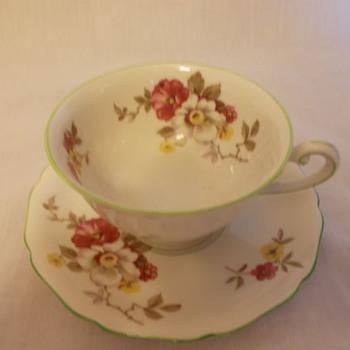 Royal York Tea Cup and Saucer Set - China and Dinnerware