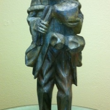 Wood Statue - Folk Art