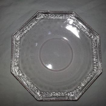 L.E. SMITH PEBBLED RIM - Glassware