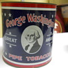 George Washington tobacco tin