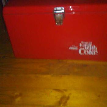 coke-cola cooler