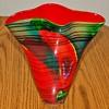 Handkerchief Studio Art Glass Vase
