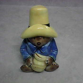 PADDINGTON BEAR MARMALADE JAR - Pottery
