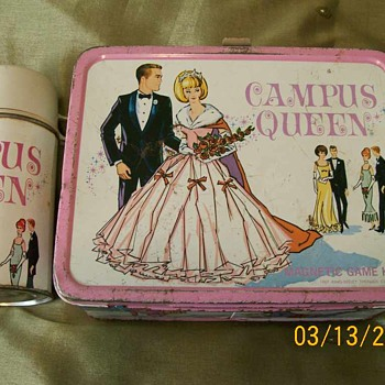 1967 Campus (Prom ) Queen Lunch Box and Thermos  - Kitchen