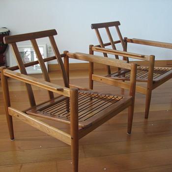 Borge Jensen Og Sonner Chairs