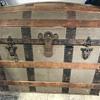 Antique trunk L Harman with pics