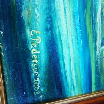 Two original oil paintings - Fine Art