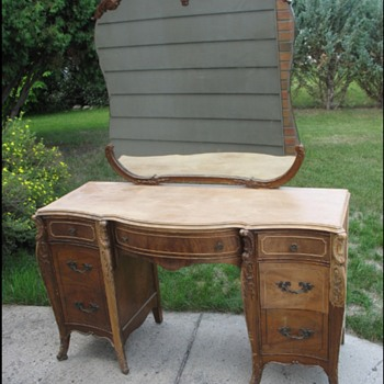 Just purchased this. Was hoping for some help figuring the age. Thanks.  - Furniture
