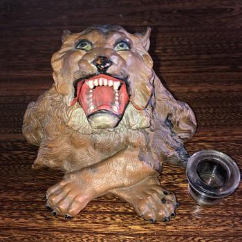 Lion Ink well - Animals