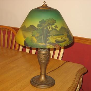 Antique lamp-unidentified - Lamps