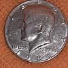 "1981-S Kennedy Half Dollar, Filled ""D"""