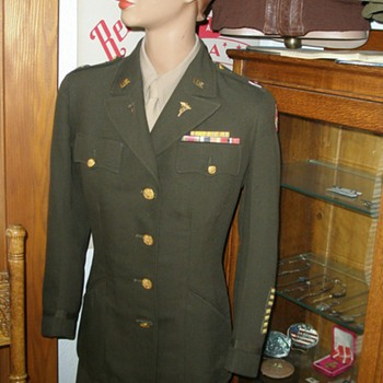 My Aunts Nurse Corps Uniform - Military and Wartime