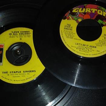 THE STAPLE SINGERS - Records
