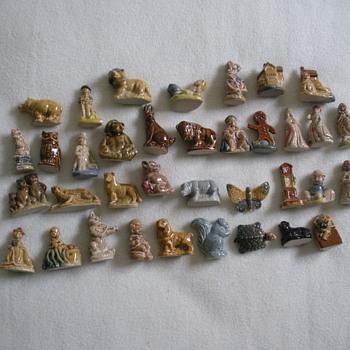 little figurines -wade china  - Animals