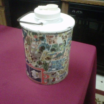 ~~Esso Skotch Kooler~~Thermos Jug - Advertising