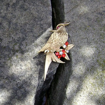 Boucher Bird Brooch