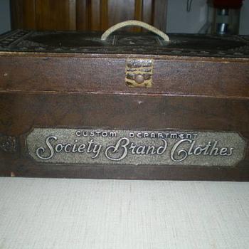 Suit Salesman sample case or Tailor case - Advertising