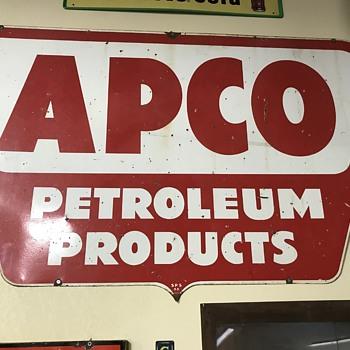 Apco gas and oil company  - Petroliana