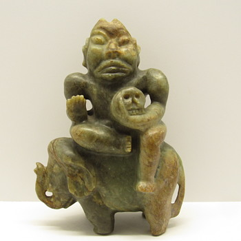 Stone Figurine - Asian