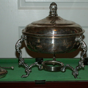 Vintage F.B. Rogers Silver Co. Warmer/Chafing Dish - Kitchen