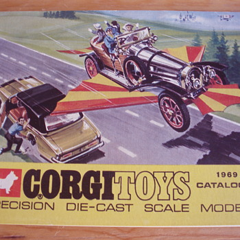 CORGI TOYS 1969 CATALOGUE