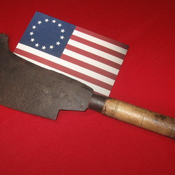 Revolutionary War  .  .  . Fascine Knife/Bill Hook