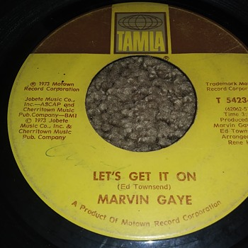 Marvin Gaye...On 45 RPM Vinyl - Records