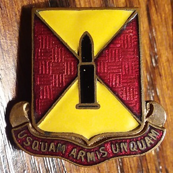 51st Field Artillery Battalion WW2  DUI - Military and Wartime