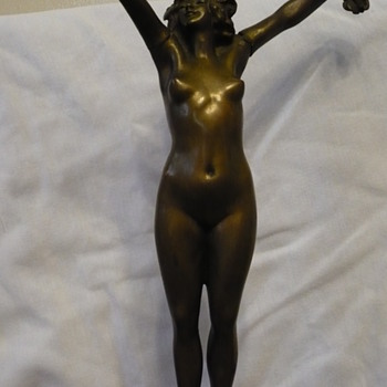 Beautiful Bronze Nude - Art Deco