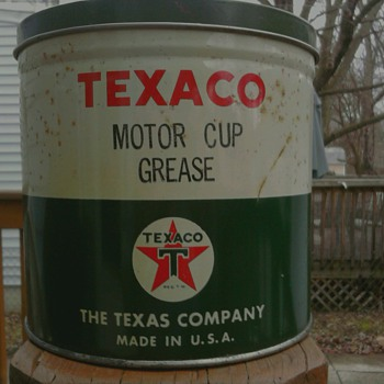 Texaco Motor Cup Grease